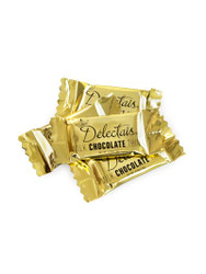 Delectais Milk Chocolate Wrapped in Gold 14.1oz