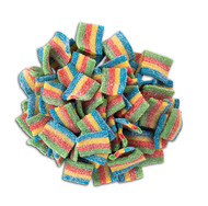 CLEARANCE - Rainbow Sour Belts 2.2 x 12 bags CASE