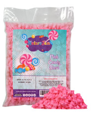 Starzmania Pink Star Shaped Candy - 2 Lbs. Bulk