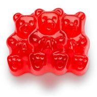 CLEARANCE - Gummy Bears Wild Cherry - 2.5 Pounds