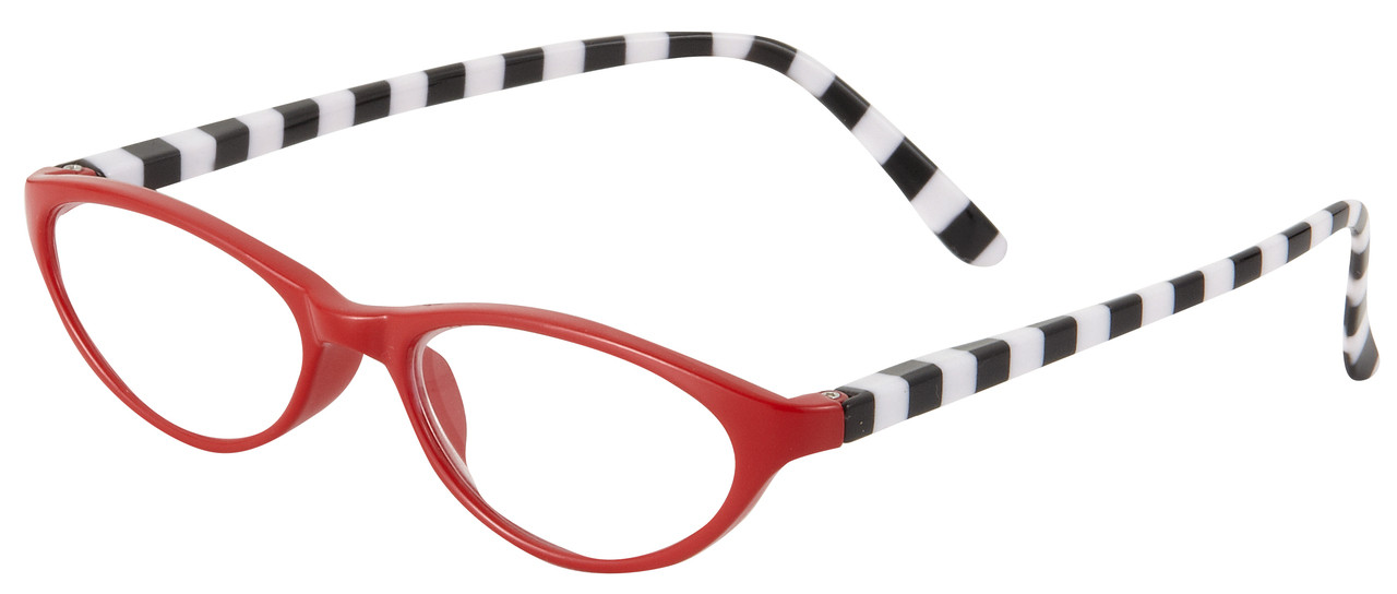 5c9b405f99 Lydia Reading Glasses for Women by I Heart Eyewear in Red with Black ...