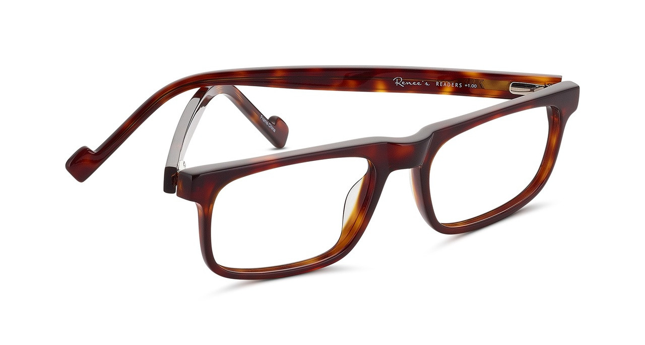 d2733fce338a Dave Designer Reading Glasses for Men by Renee s Readers in Two Colors