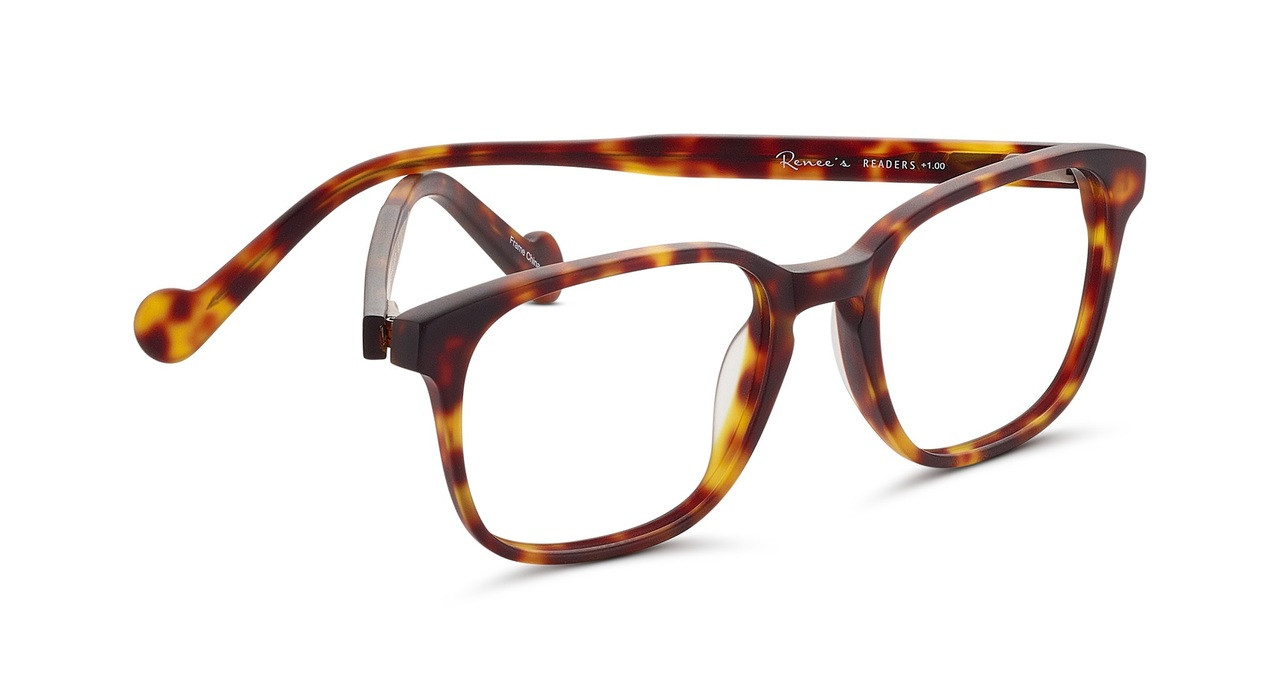 0369ca830a0c Tom Unisex Designer Reading Glasses by Renee s Readers in Two Colors