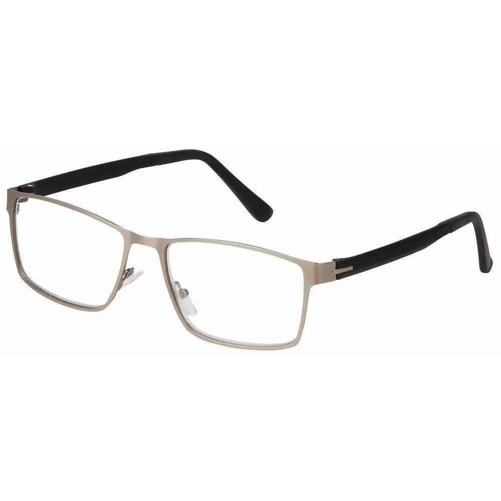 f491755743 ... James Unisex Reading Glasses by I Heart Eyewear in Two Colors. Gunmetal