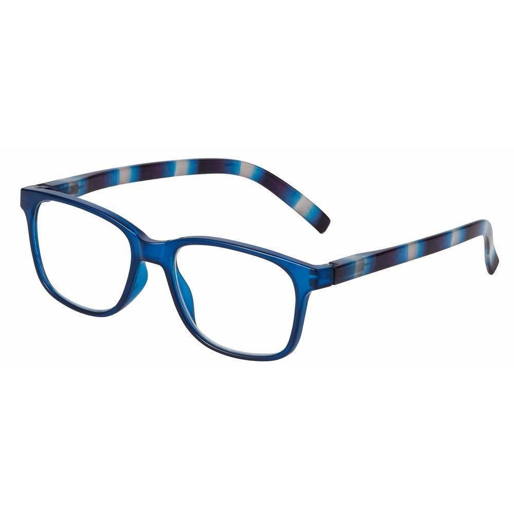 989733cb64 ... Weston Unisex Reading Glasses by I Heart Eyewear in Two Colors. Blue.  Loading zoom