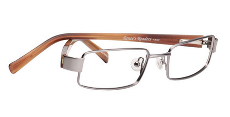 Matte Light Gunmetal/Light Brown Tortoise