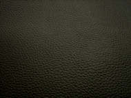 BLACK UPHOLSTERY LEATHER VINYL 135CM GRAINED FABRIC BY THE METRE