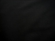 "BLACK  POLY COTTON SHEETING FABRIC 94""  X 10 METRES"