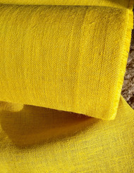 Yellow Hessian Fabric 10oz  wide x 3 metres