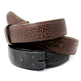 Bison Hide Belt by Chacon