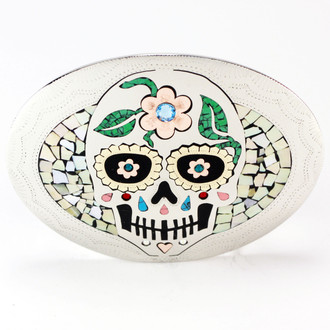 Dia de Los Muertos Abalone