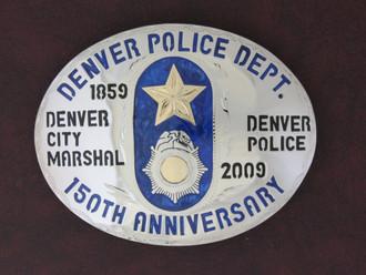 Denver Police Buckle