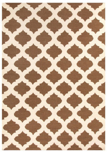 Grecko 15 Taupe Hand Knotted