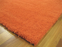 Soho Rust Shaggy Rug