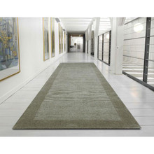 Wool 871 Taupe 80x400cm Runner