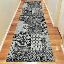 Boston 0583 Black 80x300cm Runner