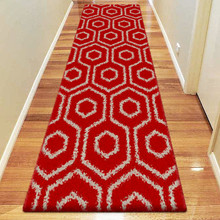 Deluxe Shag 046 Red 80x500cm Runner