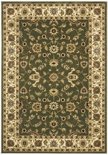 Noble Green Traditional Rug