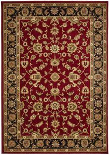 Noble Red Traditional Rug