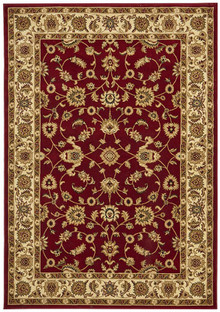 Noble Red/Beige Traditional Rug