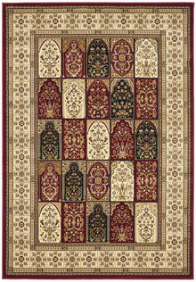Noble Traditional Red/Beige Rug