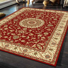 Sydney Traditional Red Rug