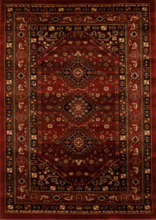 Heritage 6 Red Traditional Rug