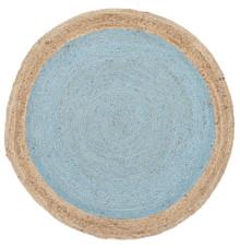 Alpine Blue Jute 150cm Round