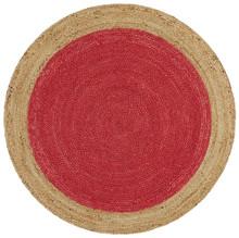 Alpine Cherry Jute 150cm Round