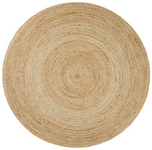 Alpine Natural Jute 120cm Round