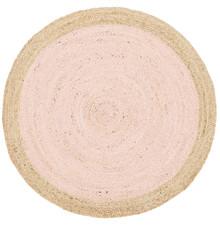 Alpine Pink Jute 120cm Round