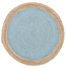 Alpine Blue Jute 240cm Round