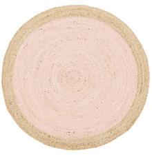 Alpine Pink Jute 240cm Round