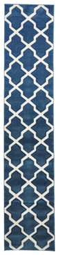 Decor 713 Blue 80x400cm Runner