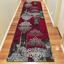 Boston 6968 Red 80x300cm Runner