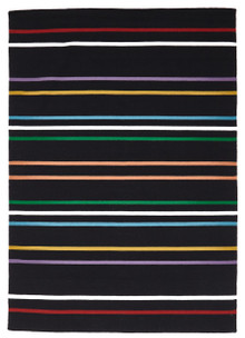 Multi Stripe Wool Rug