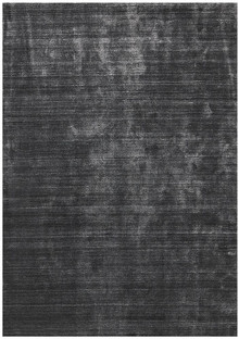 Luxury Plush Charcoal Wool Rug
