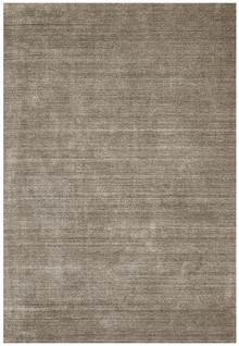 Luxury Plush Dark Natural Wool Rug