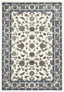 Noble White Traditional Rug