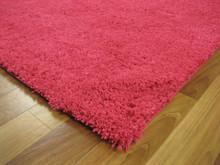 Soho Pink Shaggy Rug