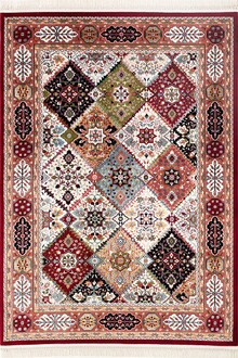 Palazzo 6050 Red Traditional Rug