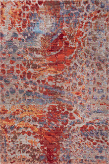 Allure Silk 1030 Red Modern Rug