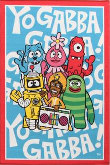 Venture Kids Yo Gabba Blue 100x150cm Rug