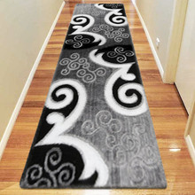 Amore Luxury 5330 Grey 80x300cm Shaggy Runner