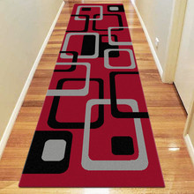 Belmont 6567 Red 80x300cm Runner