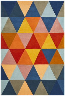 Belrose Plush 905 Multi Wool Rug