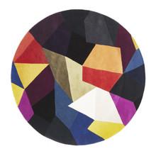Belrose Plush 906 Pixel 150cm Round Wool