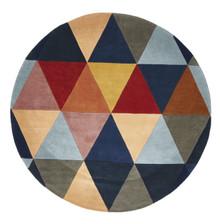 Belrose Plush 905 Multi 150cm Round Wool