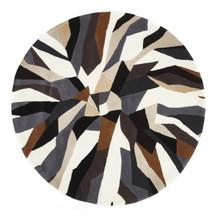 Belrose Plush 903 Brown 200cm Round Wool