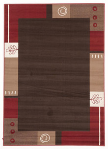 London 9120 Brown Rug